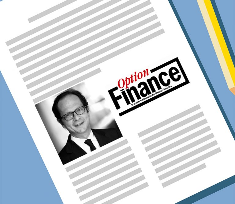 Parole d'expert dans Option Finance