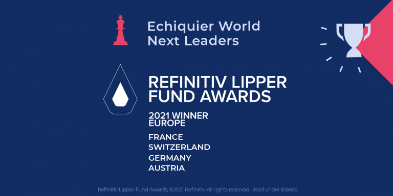 Echiquier World Next Leaders distingué par les Refinitiv Lipper Fund Awards 2021 dans toute l'Europe